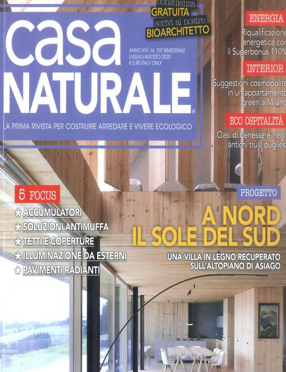 Casa naturale Italia and Partners Ampere Milano